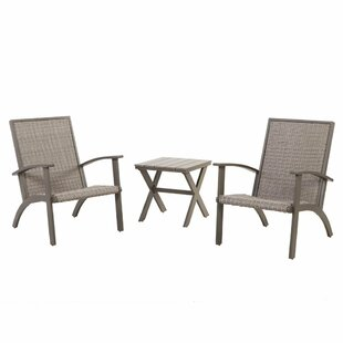 Dartford 3 Piece Rattan Conversation Set