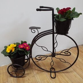 Metal Statue Planter By ClassicLiving