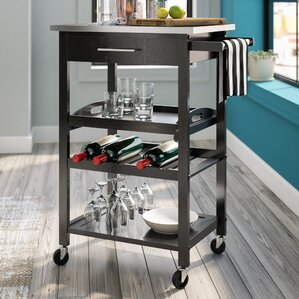 Hyperion Bar Cart by Mercury Row