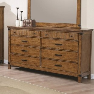 Beulah Valley 8 Drawers Double Dresser