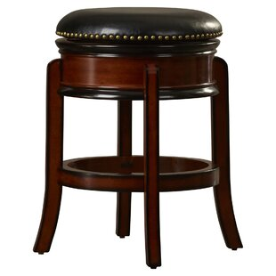Kingsford 24 Swivel Bar Stool Charlton Home