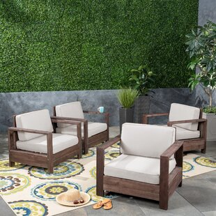 Landis Patio Chair with Cushions