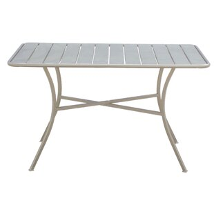Kiro Steel Dining Table By Brambly Cottage