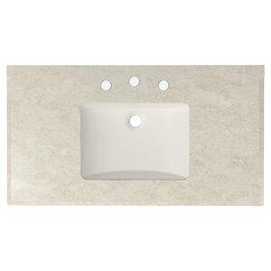 Juliet Marble 36″ Single Bathroom Vanity Top