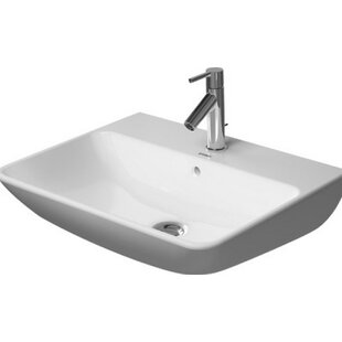 Purchase Starck Ceramic 24 Wall Mount Bathroom Sink with Overflow By Duravit