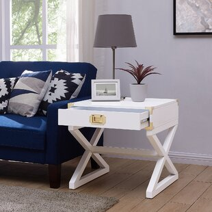 Cleorand End Table with Storage by Mercer41