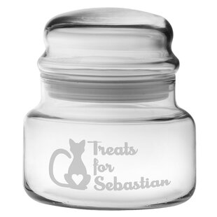 15 Oz. Personalized Treats for Kitty Apothecary Jar