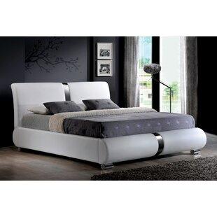 Esliabeth King Upholstered Low Profile Platform Bed with Mattress by Orren Ellis