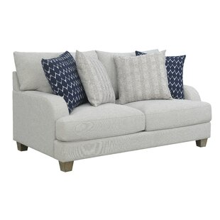 Schenk Harbor Standard Loveseat by Breakwater Bay