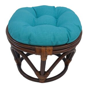 World Menagerie Magana Outdoor Ottoman wi..
