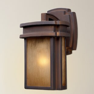 Carriage Club 1-Light Outdoor Wall Lantern by Loon Peak
