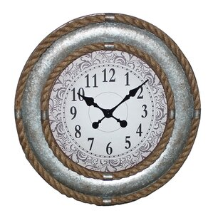 """Double Rope 20"""" Clock"""