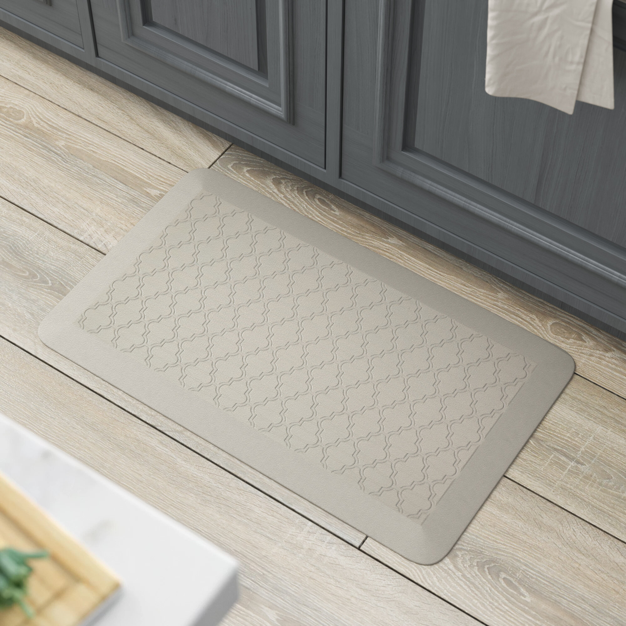 DeMotte Lattice Dri-Pro Comfort Kitchen Mat