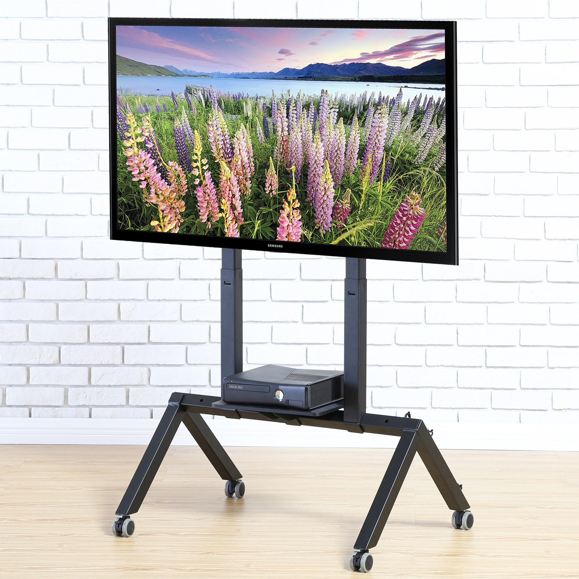 promo code 7ff65 73303 Mobile TV Floor Stand Mount for 37