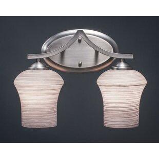 Compare Couto 2-Light Vanity Light ByRed Barrel Studio