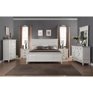 Roundhill Furniture Regitina Queen Platform 6 Piece Bedroom Set