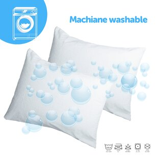 Waterproof and Bed Bug Proof Pillow Protector (Set of 2) By Joluzzy