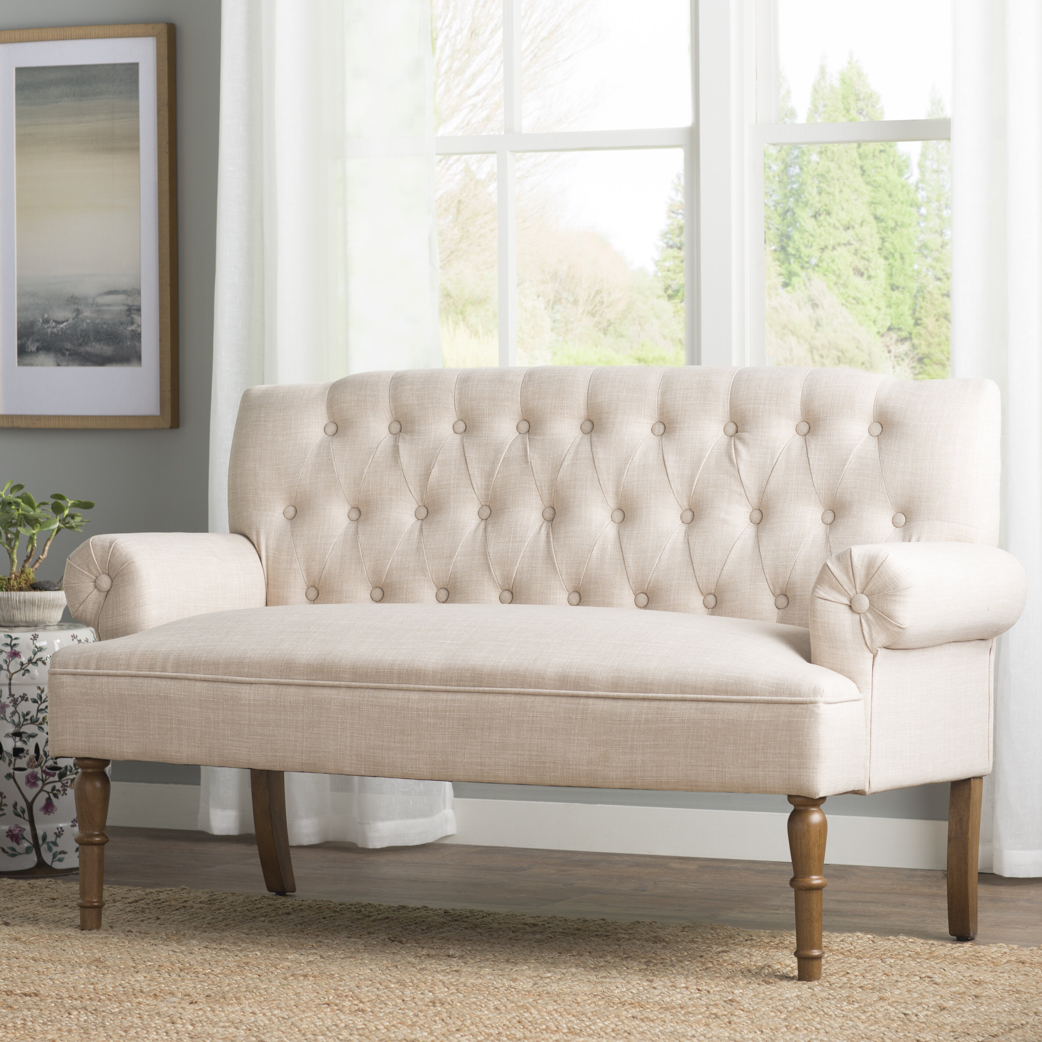 Bjorn Chesterfield Settee Reviews Joss Main