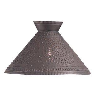 Reviews Finbar Chisel 16 Metal Empire Lamp Shade By August Grove
