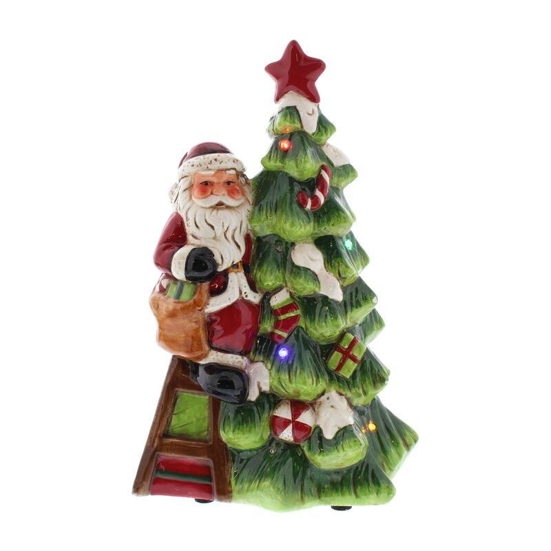 Seasonal Aisle Battery Operated Santa