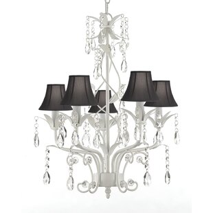 House of Hampton Hutt 5-Light Shaded Chandelier