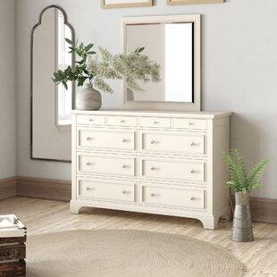 Birch Lane™ Heritage Parks 8 Drawer Dresser with Mirror