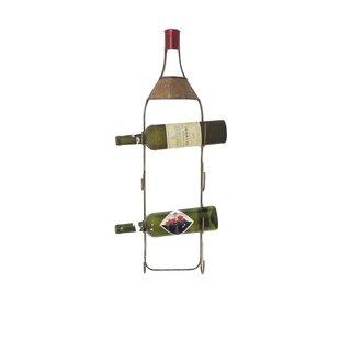 4 Bottle Tabletop Wine Rack by Charlton Home
