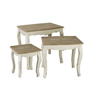 Wadlington 3 Piece Nesting Table by Ophelia & Co.