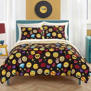 Zoomie Kids Leyburn Reversible Comforter Set