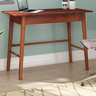Conrad Solid Wood Writing Desk by Langley Street