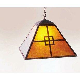Steel Partners Prairie 1-Light Dome Pendant
