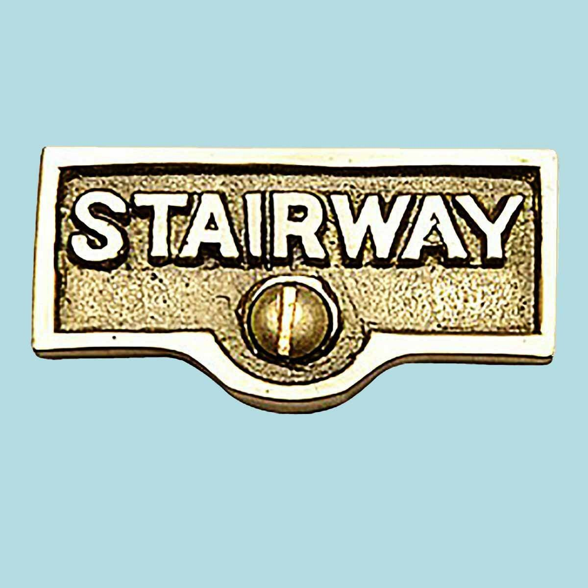 The Renovators Supply Inc Stairway Name Signs Label Switch Plate Tag Wayfair
