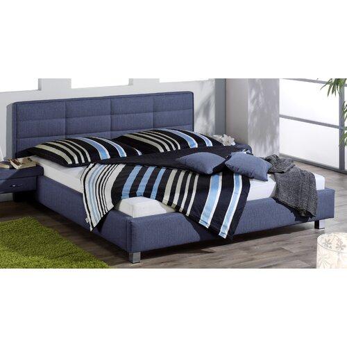 Sayles Polsterbett ModernMoments Liegefläche: 140 x 200 cm| Farbe: Denim Blau| Matratze: keine Matratze und kein Lattenrost | Schlafzimmer | ModernMoments
