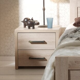 Browning 2 Drawer Bedside Table By Isabelle & Max