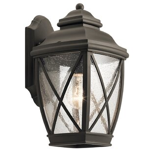 Best Deals Sunnydale 1-Light Outdoor Wall Lantern By Darby Home Co