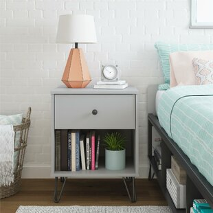 Novogratz Owen 1 Drawer Nightstand