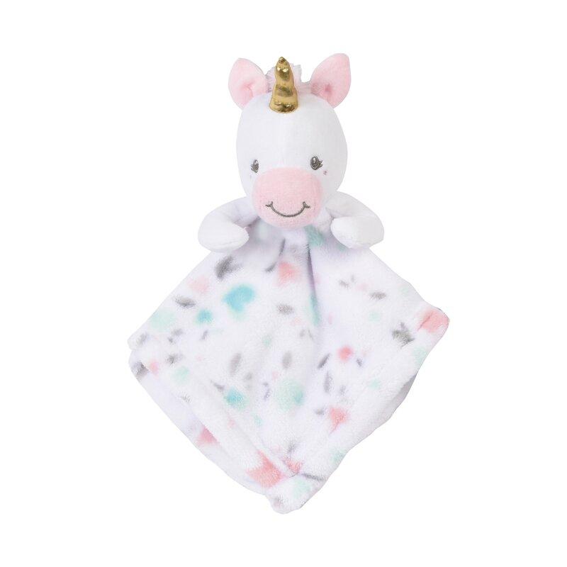 aca6cd51c Isabelle & Max Breuer Baby Buddy Unicorn Security Blanket   Wayfair