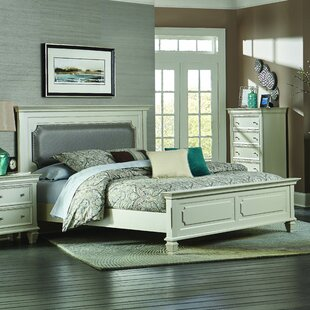 Regency Upholstered Panel Bed