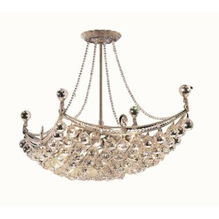 Kasha 8-Light Chandelier by Willa Arlo In..