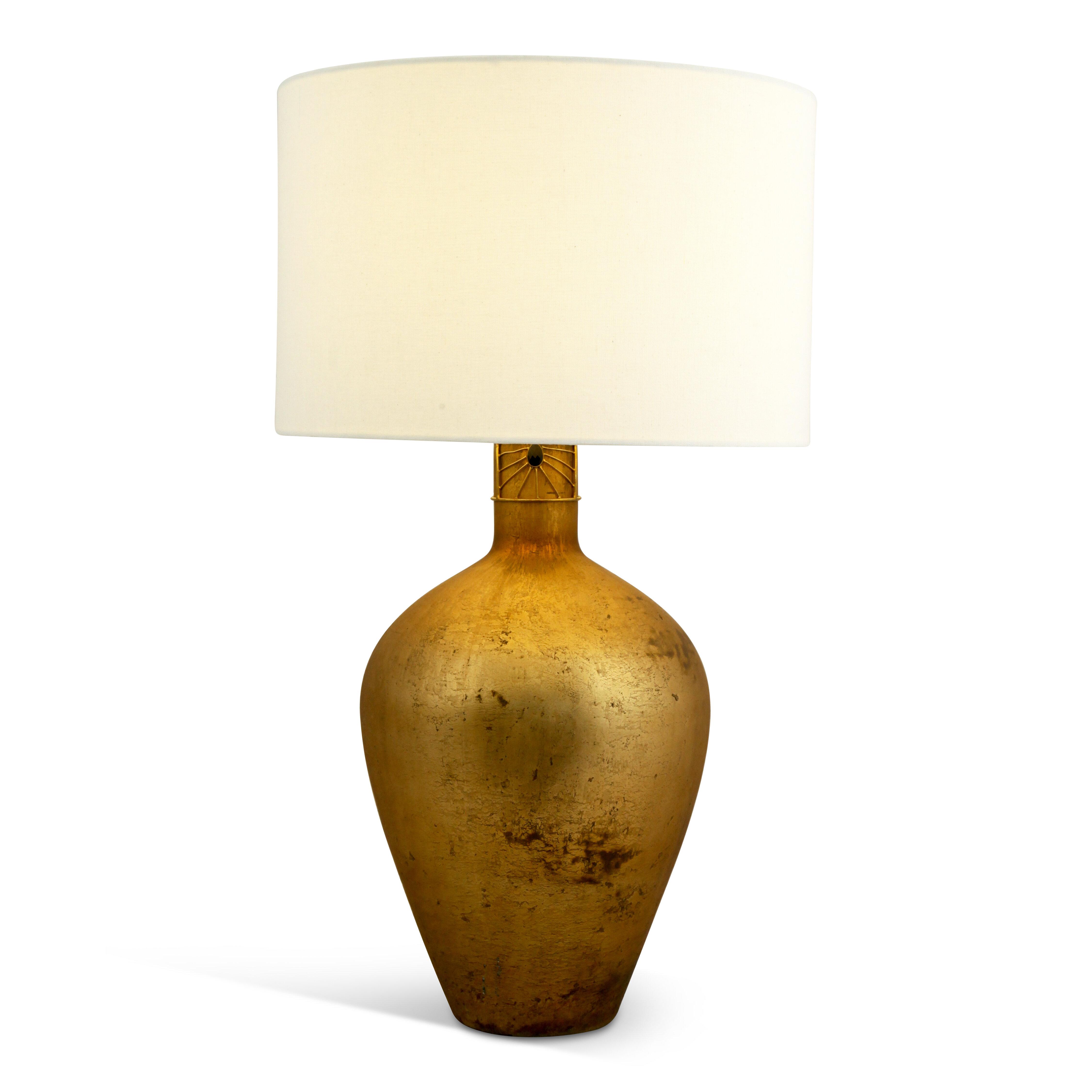 Bloomsbury Market Asare 31 Antique Copper Table Lamp