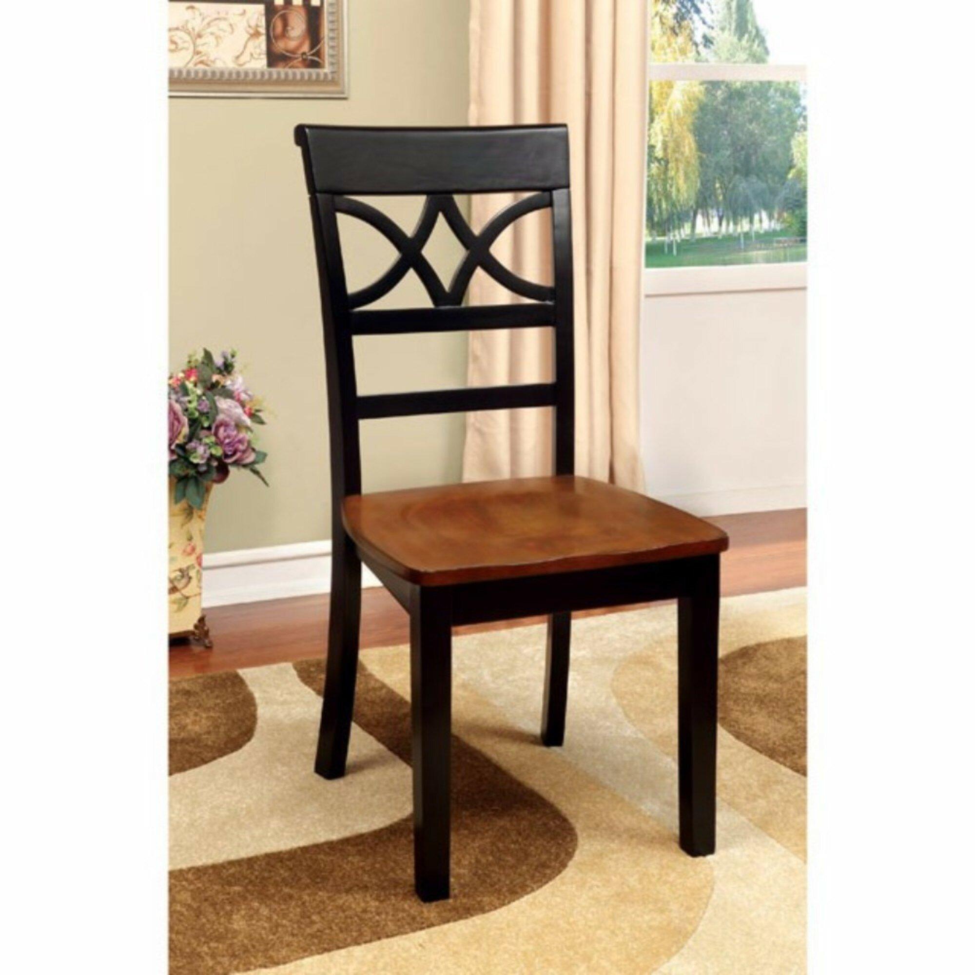 Red Barrel Studio Oisin Solid Wood Side Chair Wayfair