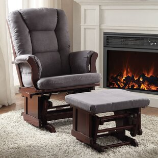 Aeron Glider And Ottoman by A&J Homes Studio Today Sale Only