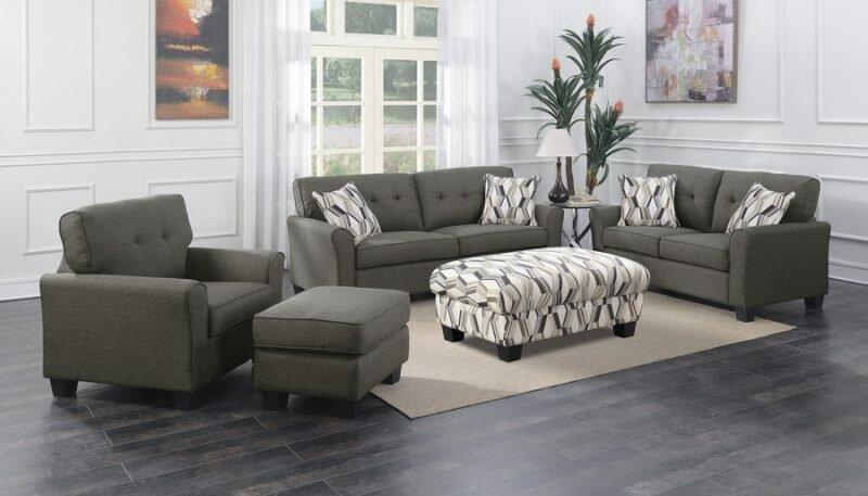 Ivy Bronx Kittle Sleeper Configurable Living Room Set