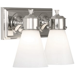 Williamsburg Blaikley 2-Light Armed Sconce by Robert Abbey