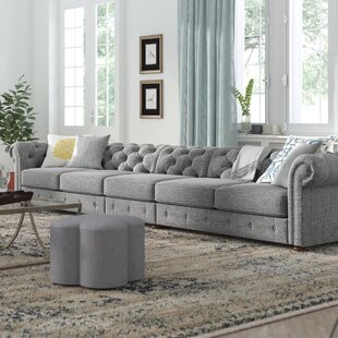 Shop Gowans Chesterfield Sofa by Three Posts