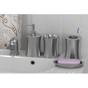 Shop For 4 Piece Bathroom Accessory Set ByRebrilliant