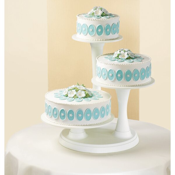 Merveilleux Wilton 3 Tier Cake Stand U0026 Reviews | Wayfair