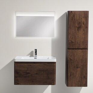 Groton 31 inch  Wall-Mounted Single Bathroom Vanity Set