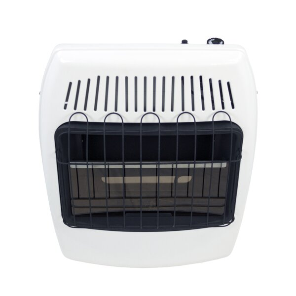 Dyna Glo 20 000 Btu Wall Mounted Natural Gas Manual Vent