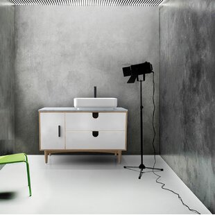Portree 47 Single Bathroom Vanity By KartonRepublic
